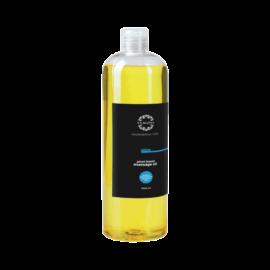 MEN növényi alapú masszázsolaj - 1000ml (közeli szavidős) - színezék-, parabén- és paraffin mentes