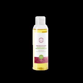 Szőlőmagolajos növényi alapú masszázsolaj - 250ml - színezék-, parabén- és paraffin mentes