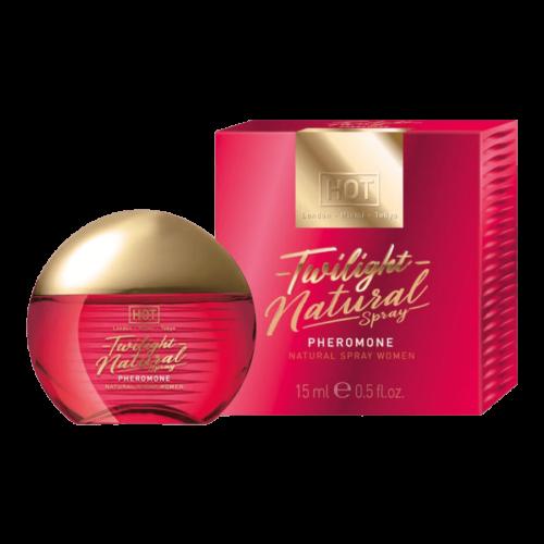 HOT Twilight Natural - feromon parfüm nőknek (15ml) - illatmentes - feromonnal feturbózva