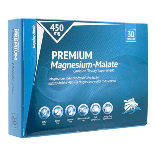 Prémium Magnézium-malát 450 mg (30db) - Napfényvitamin -