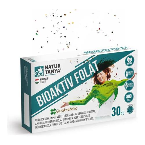 Bioaktív folát - 30 tabletta - Natur Tanya -