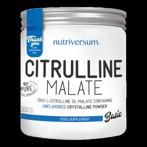 Citrulline Malate - 200 g - BASIC - Nutriversum - ízesítetlen -