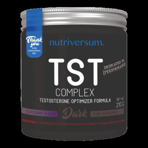 TST Complex - 210 g - DARK - Nutriversum - feketeribizli -