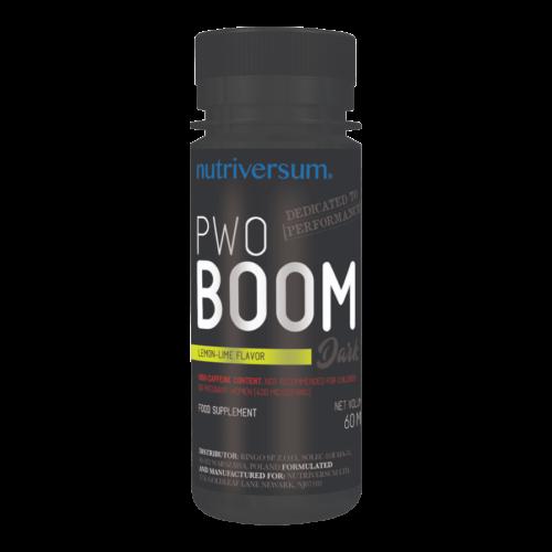 PWO Boom - 60ml - DARK - Nutriversum - citrom-lime - folyékony, edzés előtti formula