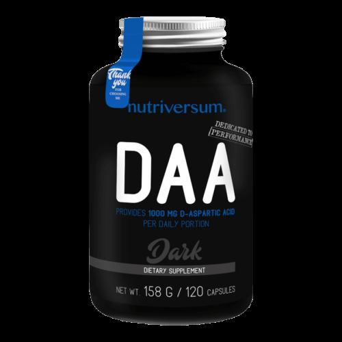 DAA - 120 kapszula - DARK - Nutriversum -
