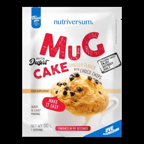 Mug Cake - 50 g - DESSERT - Nutriversum - vanília-csokoládé -