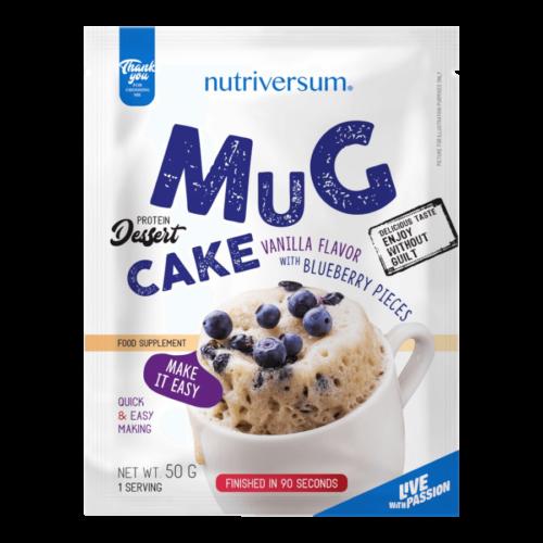 Mug Cake - 50 g - DESSERT - Nutriversum - vanília-áfonya -
