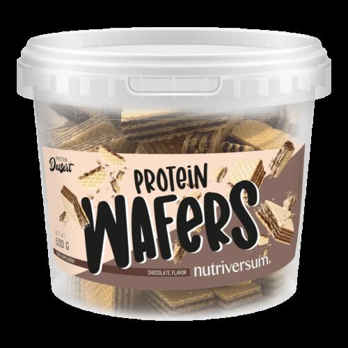 Protein Wafers - 500 g - DESSERT - Nutriversum - csokoládé -