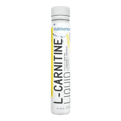 L-Carnitine 3 000 mg - 25 ml - FLOW - Nutriversum - citrom - hozzáadott króm és vitaminok