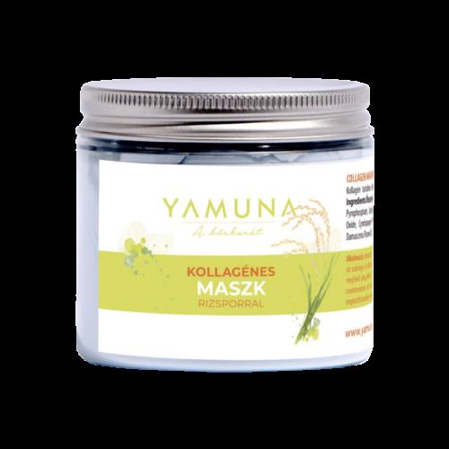 Kollagénes maszk rizsporral 80g - minőségi testápolás természetesen