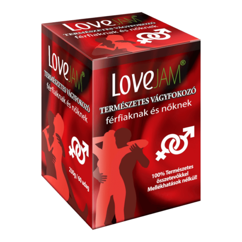LoveJAM BigBox potencianövelő - 230g - alkalmi potencianövelő és vágyfokozó