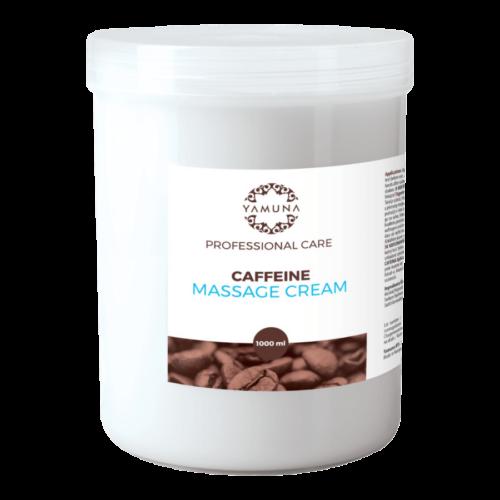 Koffeines masszázskrém - 1000ml - színezék-, parabén- és paraffin mentes