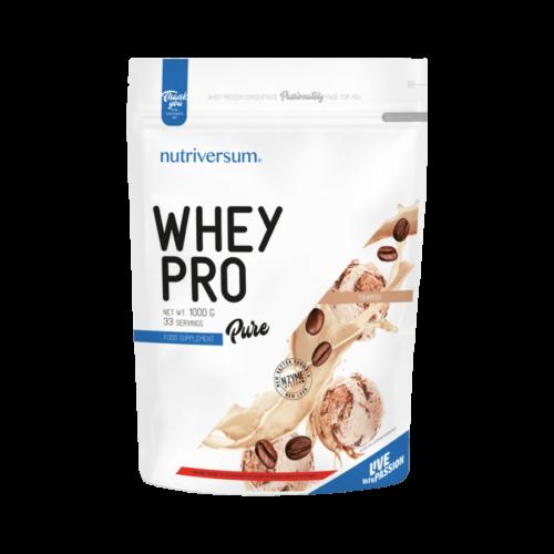 Whey PRO - 1 000 g - PURE - Nutriversum - tiramisu - 23 g prémium fehérje forrás