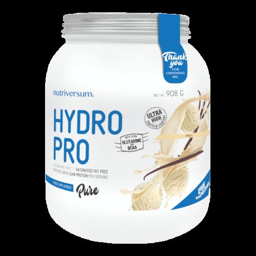 Hydro PRO - 908 g - PURE - Nutriversum - vanília - 90% fehérje tartalom