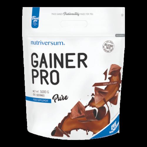 Gainer Pro - 5 000 g - PURE - Nutriversum - csokoládé - 4875 mg kreatin mátrix
