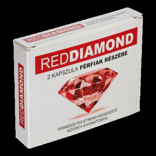 Red Diamond - 2db kapszula - alkalmi potencianövelő