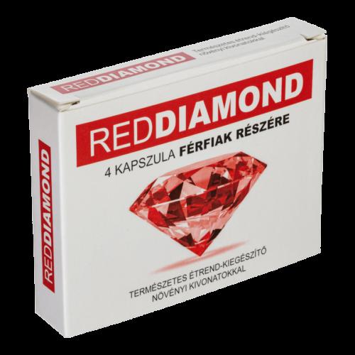 Red Diamond - 4db kapszula - alkalmi potencianövelő