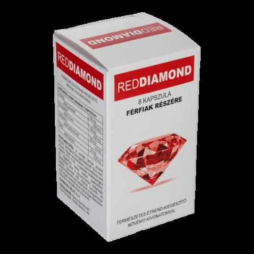 Red Diamond - 8db kapszula - alkalmi potencianövelő