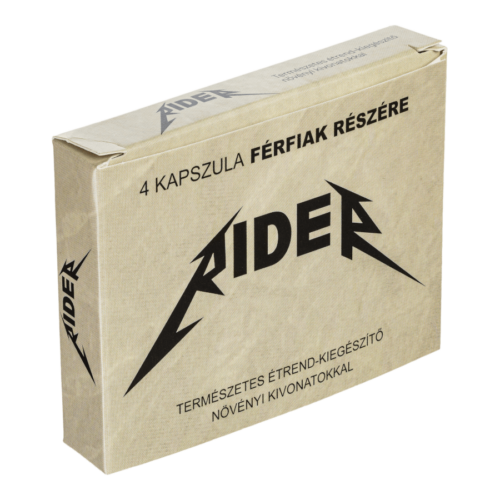 Rider - 4db kapszula - alkalmi potencianövelő