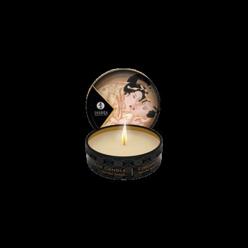 Shunga - Masszázsgyertya Vanília (30ml) - kozmetikai minőségű, természetes olajok