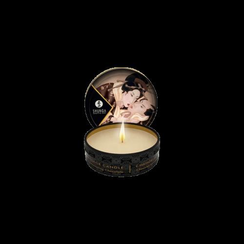 Shunga - Masszázsgyertya Csokoládé (30ml) - kozmetikai minőségű, természetes olajok