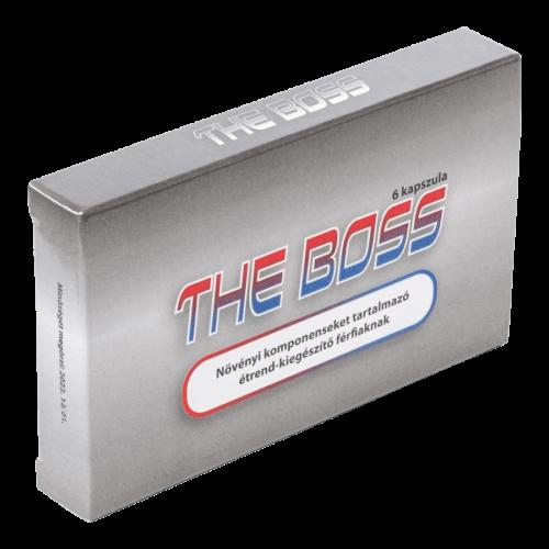 The Boss - 6db kapszula - alkalmi potencianövelő