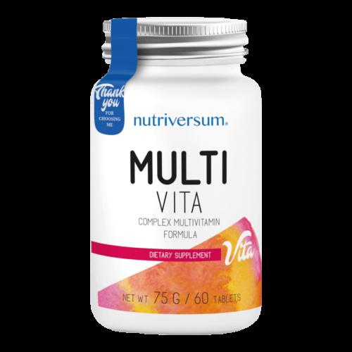 Multi Vita - 60 tabletta - VITA - Nutriversum -