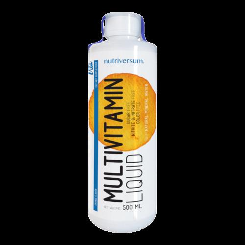 Multivitamin Liquid - 500 ml - VITA - Nutriversum - narancs -