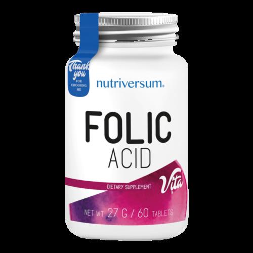 Folic Acid - 60 tabletta - VITA - Nutriversum -