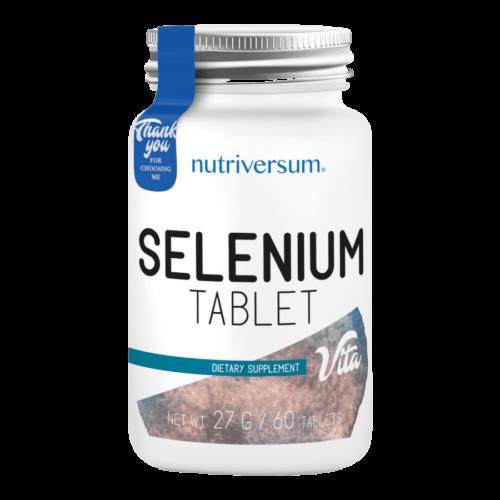 Selenium - 60 tabletta - VITA - Nutriversum -