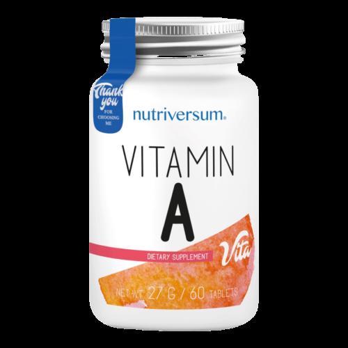 Vitamin A - 60 tabletta - VITA - Nutriversum -