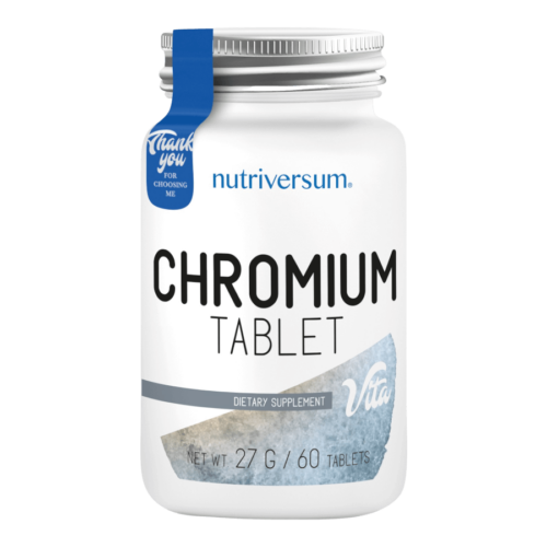 Chromium - 60 tabletta - VITA - Nutriversum -