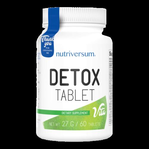 Detox - 60 tabletta - VITA - Nutriversum - hozzáadott B6 vitamin