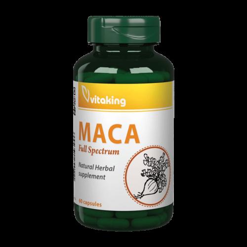 MACA 500mg - 60 kapszula - Vitaking -