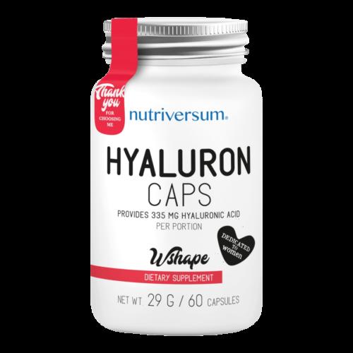 Hyaluron - 60 kapszula - WSHAPE - Nutriversum -