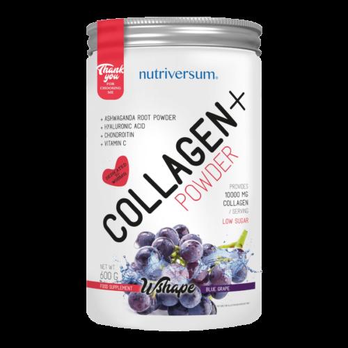 Collagen+ - 600 g - WSHAPE - Nutriversum - kékszőlő -