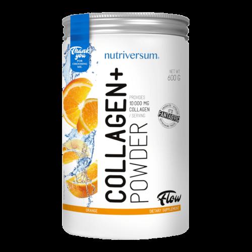 Collagen+ - 600 g - WSHAPE - Nutriversum - narancs -