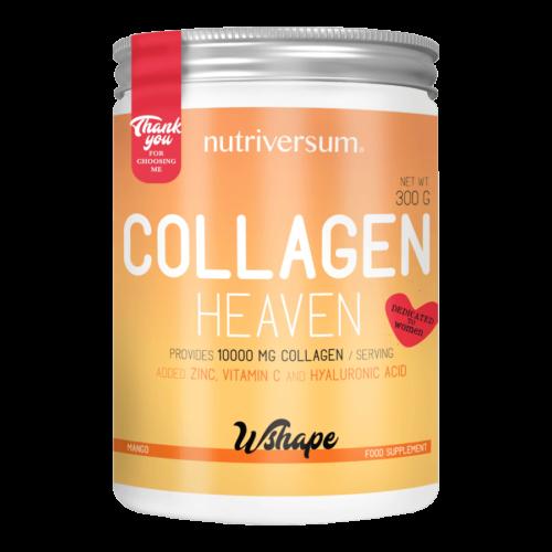 Collagen Heaven - 300 g - WSHAPE - Nutriversum - mangó - 10.000mg Kollagén