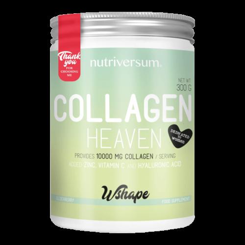 Collagen Heaven - 300 g - WSHAPE - Nutriversum - bodza - 10.000mg Kollagén