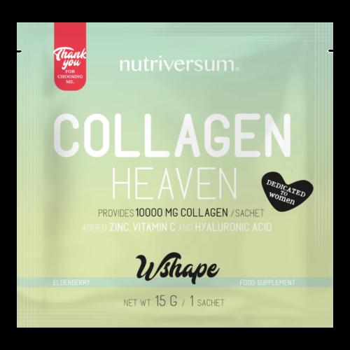 Collagen Heaven - 15 g - WSHAPE - Nutriversum - bodza - 10.000mg Kollagén