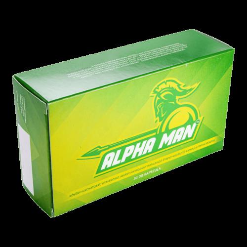 Alpha Man - 30db kapszula - folyamatos szedésű potencianövelő
