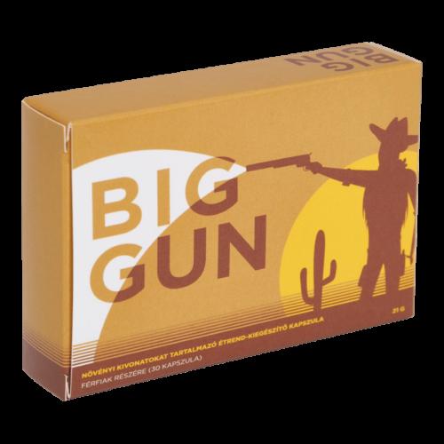 Big Gun - 30db kapszula - sperma mennyiség növelő