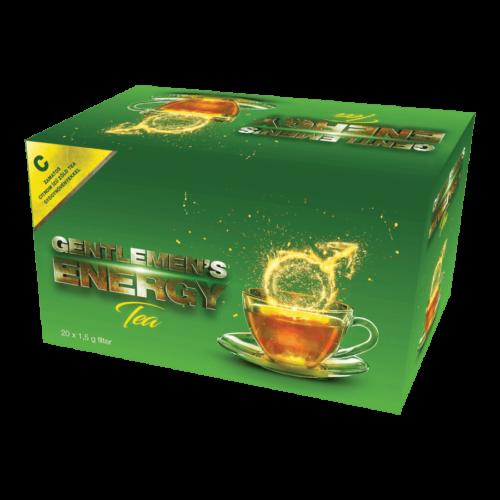 Gentlemen's Energy Tea - Citrom - 20 filter - potencianövelő tea