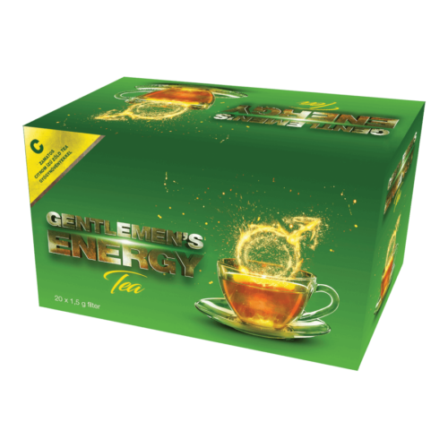 Gentlemen's Energy Tea - Citrom - 20 filter - potencianövelő tea