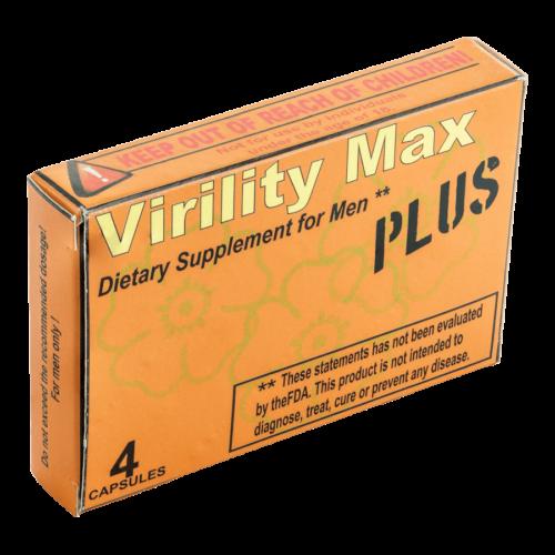 V. Max PLUS - 4db kapszula - alkalmi potencianövelő