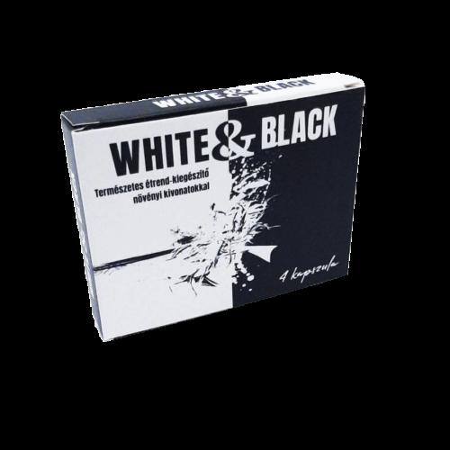 White & Black - 4db kapszula - alkalmi potencianövelő