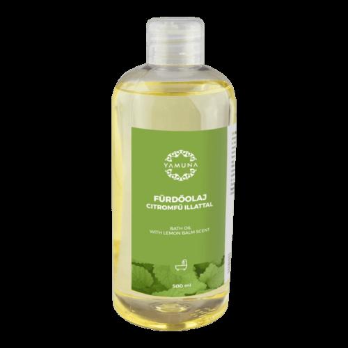 Fürdőolaj citromfű illattal - 500ml - rendkívül jól hidratáló fürdőolaj