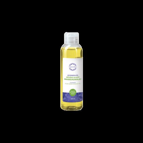 Levendulás növényi alapú masszázsolaj - 250ml - színezék-, parabén- és paraffin mentes