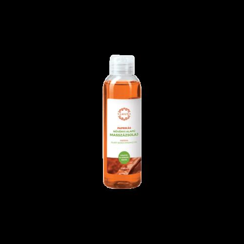 Paprikás növényi alapú masszázsolaj - 250ml - színezék-, parabén- és paraffin mentes
