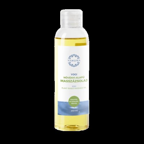 Yogi növényi alapú masszázsolaj - 250ml - színezék-, parabén- és paraffin mentes